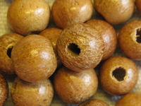 Nangka, wooden bead, round, 8mm, 20 pcs