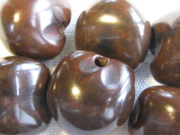 Kukui, nut, brown, 1 pcs