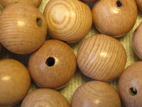 Rosewood, wooden bead, round, 10mm, 20 pcs
