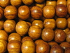 Redwood, wooden bead, round, 8mm, 20 pcs