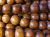 Bayong, wooden bead, round, 10mm, 20 pcs