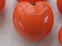 Kukui, nut, orange, 1 pcs