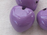 Kukui, nut, light lilac, 1 pcs