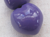 Kukui, nut, purple, 1 pcs