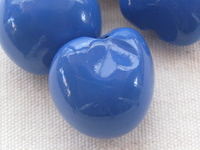 Kukui, nut, blue, 1 pcs