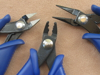 Pocket Tool Kit, 3 pieces: crimper, chain nose pliers, nipper tool