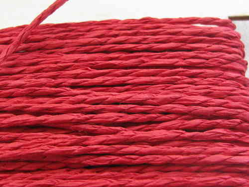 Papercord, red, 10m