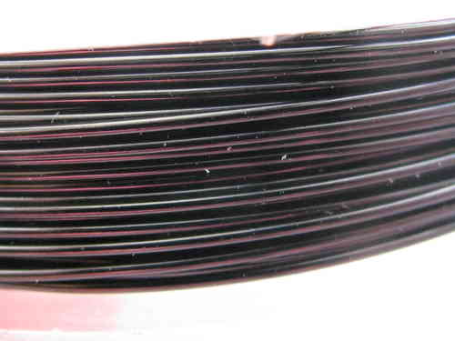 Artistic wire, 0.64mm, musta, 13,72m