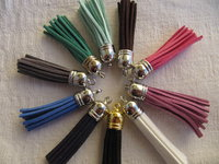 Suede tassel 58mm with cup