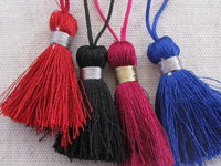 Polyester tassel 40mm with loop