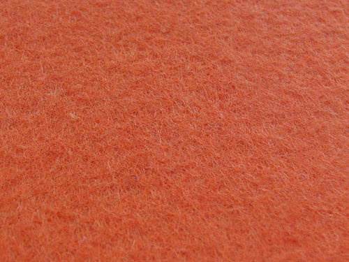 Felt sheet 30x45cm, orange, 1 pcs