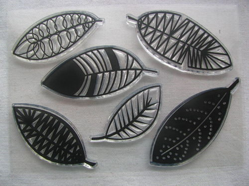 WOW embossing stamp, Flights of Fancy, 6 pcs