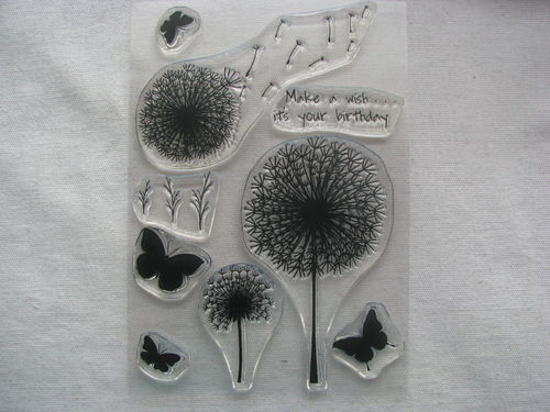 WOW embossing stamp, Make a wish, 9 pcs