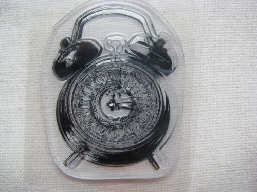 CArt-US silicon stamp, clock, 1 pcs