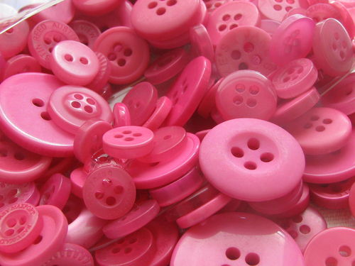 Button mix, Pink tones, 115g