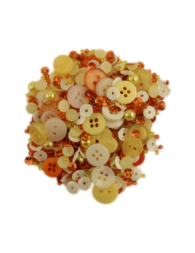 Button mix, Lilac Lane Candy Corn, 1 bottle