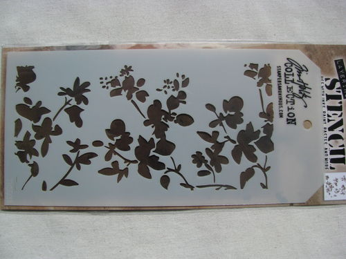 Tim Holz Collection, stencil, Blossom, 1 pcs