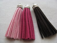 Suede tassel 70mm with cup