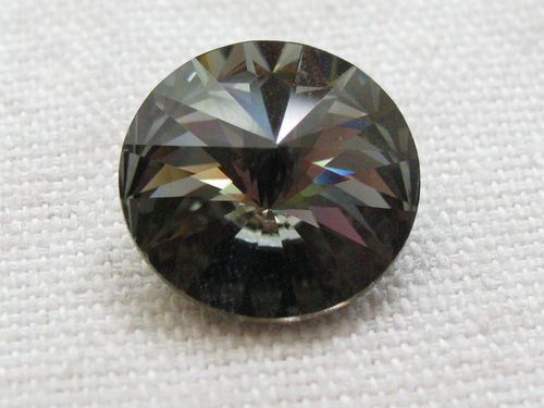 Chaton, 14mm, blood diamond, 1 pcs
