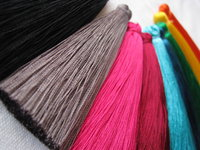 Polyester tassel thick 80mm